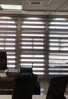 Wood Blinds For Santee Office
